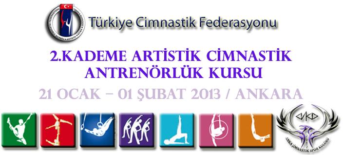 2. Kademe Artistik Cimnastik Antrenörlük Kursu 2013