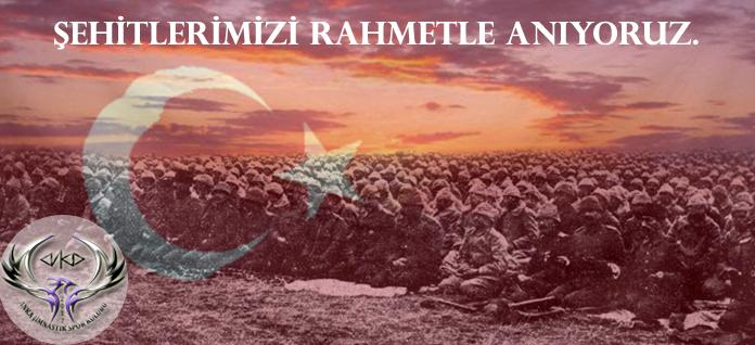 Şehitlerimizi Rahmetle Anıyoruz