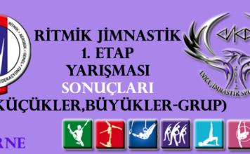 Ritmik Jimnastik 1. Etap Yarışma Sonuçları